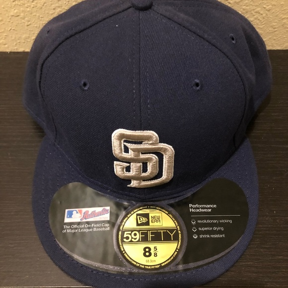 on sale deee2 fde85 New Era 59Fifty San Diego Padres Cap 8 5 8 NWT